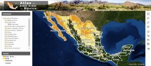 ATLAS zonas áridas México